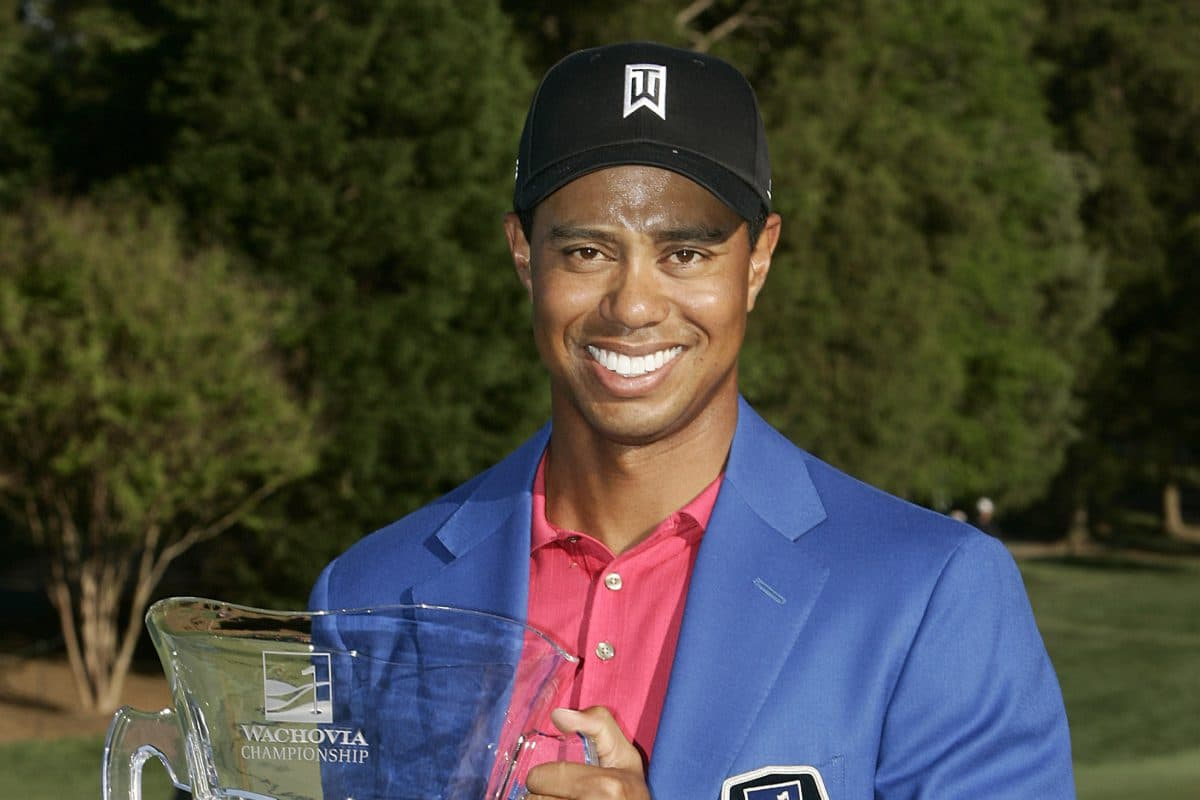 2007 Champion Tiger Woods